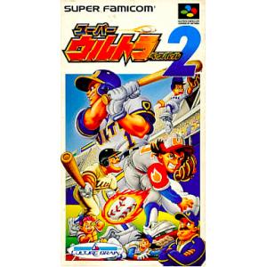 Super Ultra Baseball 2 [SFC - Used Good Condition]
