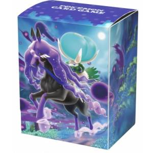Pokemon Card Game Sword & Shield - Deck Case Calyrex (Shadow Rider) [Trading Cards]