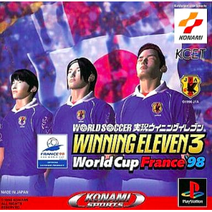 World Soccer Jikkyou Winning Eleven 3 - World Cup France '98 [PS1 - Used Good Condition]