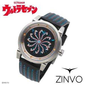 Ultraseven ZINVO Watch Black Limited Edition LIMITED EDITION [Bandai]