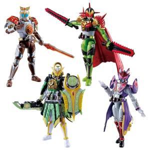 SO-DO CHRONICLE Kamen Rider Gaim Gaiden Bravo Gridon Zangetsu Sylphi Set LIMITED EDITION [Bandai]