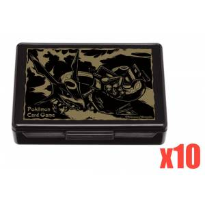 Pokemon Card Game - Damage Counter Case Rayquaza 10 pack box [Trading Cards]