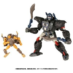 Transformers War for Cybertron WFC-19 Optimus Primal with Rattrap [Takara Tomy]