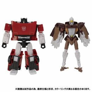 Transformers Kingdom KD EX-10 Maximal Skywarp & Sideswipe LIMITED EDITION [Takara Tomy]