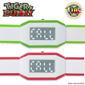 TIGER & BUNNY PDA type watch red Barnaby Brooks Jr. LIMITED EDITION [Bandai]
