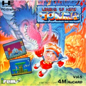 Legend of Hero Tonma [PCE - used good condition]