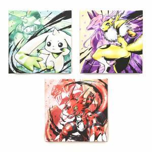 Kenji Watanabe Duplicate Digimon Tamers 20th Anniversary Art Board Set Limited Edition [Bandai]