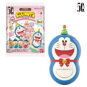 Coo'nuts Doraemon - 50th anniversary - 14Pack BOX (CANDY TOY) [Bandai]