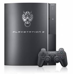 PlayStation 3 160GB Final Fantasy Advent Children Complete - Cloud Black [used]
