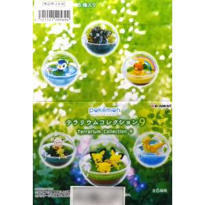 Pokemon Terrarium Collection 9 6Pack BOX CANDY TOY Reissue [Rement]