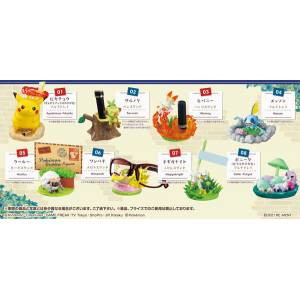 Pokemon - Pokémon DesQ Desktop Figure GO - To the Galar Region 8Pack BOX (CANDY TOY) [Rement]