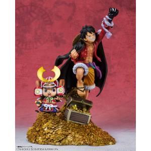 Figuarts ZERO One Piece - Monkey D. Luffy 100th Anniversary of WT100 Edition [Bandai]