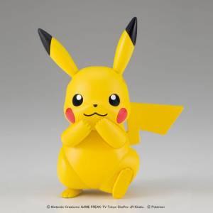 Pokemon Plamo Collection 41: Pikachu Plastic Model [Bandai]