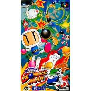 Super Bomberman 5 [SFC - Used Good Condition]