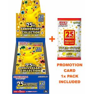 Cartes Pokémon Expansion Pack: Epée & Bouclier Series - 25th ANNIVERSARY COLLECTION 16Packs/Box [Trading Cards]