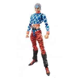 JoJo's Bizarre Adventure Part.V No.34 - Guido Mista and Sex Pistols (Hirohiko Araki Specified Color) [Super Action Statue]