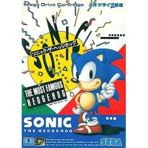 Sonic The Hedgehog [MD - Used Good Condition]