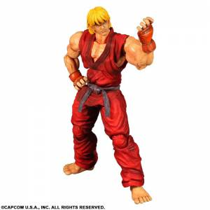 Super Street Fighter 4 Arcade Edition - Ken [Play Arts Kai]