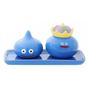 DRAGON QUEST - Salt and Pepper Smile Slime Blue [Goodies]