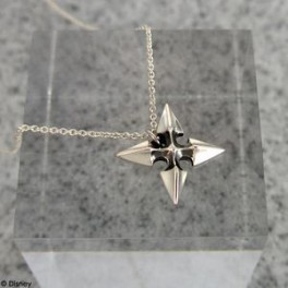 KINGDOM HEARTS - Silver Charm Necklace ROXAS [Goods]