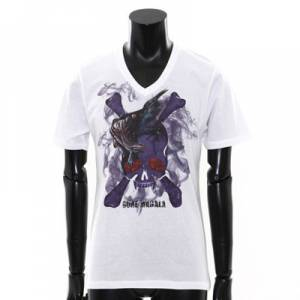 Monster Hunter 4 × Roen - T Shirt Goa Magara White [Goods]
