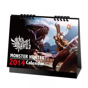 Monster Hunter 4 - Desk Calender 2014 [Goods]
