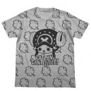 One Piece - Chopper & Cotton Candy T Shirt GRAY - Bandai-Namco Lalabit Market Limited Edition [Goods]