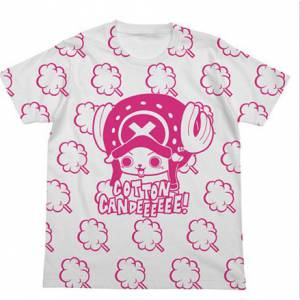 One Piece - Chopper & Cotton Candy T Shirt White - Édition Limitée Bandai-Namco Lalabit Market [Goodies]