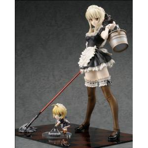 Fate/Hollow Ataraxia - Saber Alter Maid ver. [Alter]