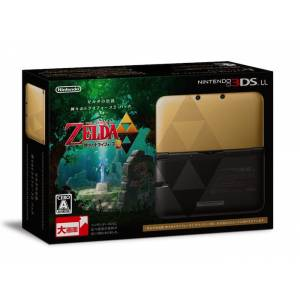 Nintendo 3DS LL (XL) - The Legend of Zelda - Kamigami no Triforce 2 Pack [Brand New]