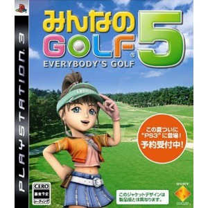 Minna no Golf 5 / Hot Shots Golf - Out of Bounds [PS3 - Used Good Condition]