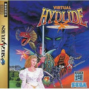 Virtual Hydlide [SAT - Used Good Condition]
