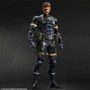 Metal Gear Solid 5 Ground Zeroes - Snake [Play Arts Kai]