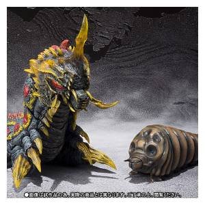 Battra Larva & Mothra Larva Set - Limited Edition [SH MonsterArts]