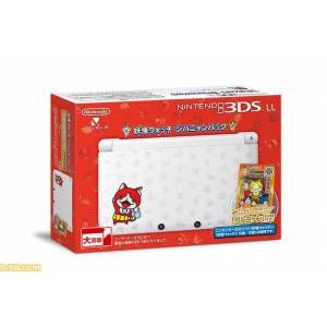 Nintendo 3DS LL (XL) - Youkai Watch Jibanyan pack [Brand New]