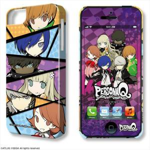 Persona Q Shadows of the Labyrinth - Type 6 iPhone Case & Protection Sheet [Goods]