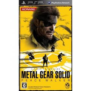 Metal Gear Solid Peace Walker [PSP]
