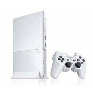 PlayStation 2 Slim - Ceramic White (SCPH-90000CW) (Used)