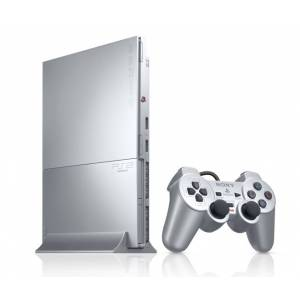 PlayStation 2 Slim - Satin Silver (SCPH-90000SS) (occasion)