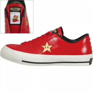 Converse × Super Mario - Red Version [Fashion]