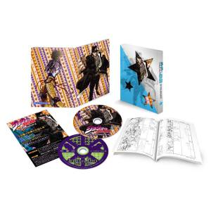 JoJo's Bizarre Adventure Stardust Crusaders Vol.1- Amazon Limited Edition [Blu-ray / Region-Free]