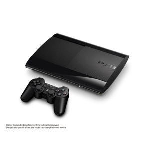 PlayStation 3 Super Slim Charcoal Black 500GB (CECH-4300C) [brand new]