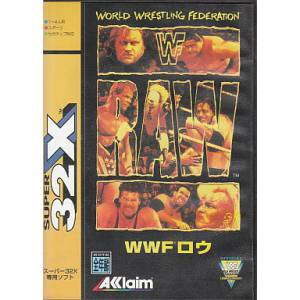 WWF Raw [32X - occasion BE]