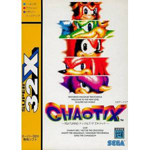 Chaotix / Knuckles Chaotix [32X - occasion BE]