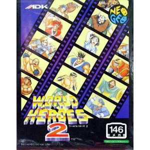 World Heroes 2 [NG AES - Used Good Condition]
