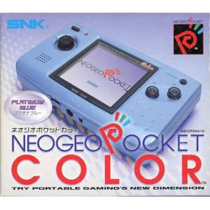Neo Geo Pocket Color Platinum Blue [Occasion]