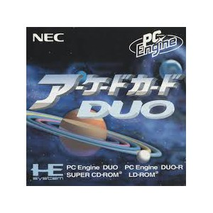 Arcade Card Duo [PCE ACD - used good condition]