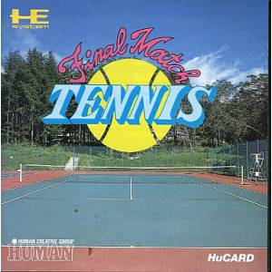 Final Match Tennis [PCE - occasion BE]