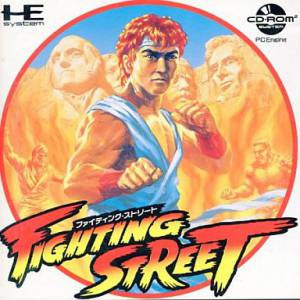 Fighting Street [PCE CD - used good condition]