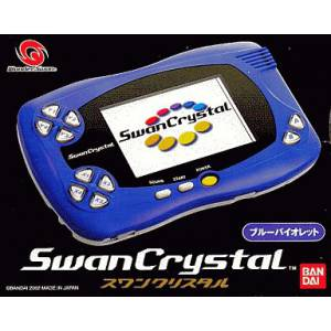 Swan Crystal Blue Violet Complete in box [Used Good Condition]